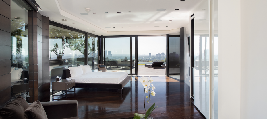 Master Bedroom in Beverly Hills