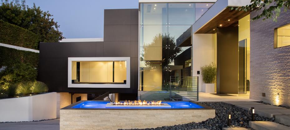 Beverly Hills mansion using Wine Pegs wine storage system